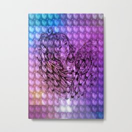 NV: Nakai: patterned Metal Print
