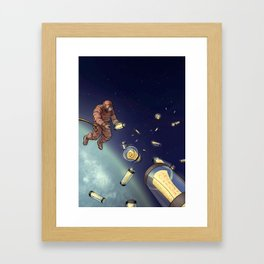Messages from Space Framed Art Print