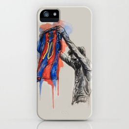 Messi celebration iPhone Case