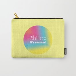 Chillax It's Summer Carry-All Pouch