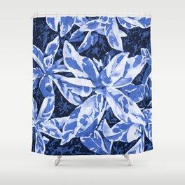 Aloha Blue Shower Curtain