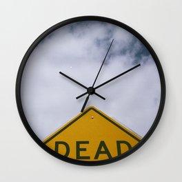 D E A D Wall Clock