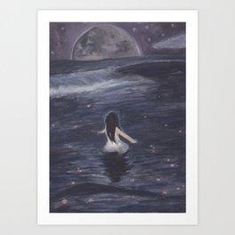 Abyss Serenity Art Print