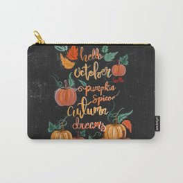 Hello October Carry-All Pouch