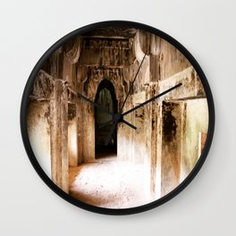 Light in the past Wall Clock