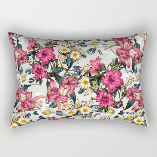 CLASSIC FLORAL PATTERN II Rectangular Pillow