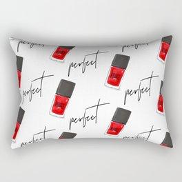 perfect nail polish Rectangular Pillow