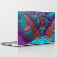 be brave Laptop & iPad Skins featuring Brave by Fractalinear
