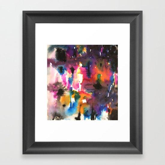 mystery pattern Framed Art Print