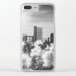 City in the Clouds Clear iPhone Case