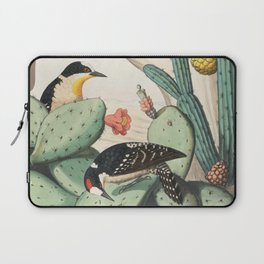 Woodpeckers And Cacti Laptop Sleeve
