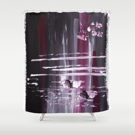Cherry Merlot Shower Curtain