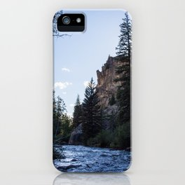 TAYLOR RIVER iPhone Case