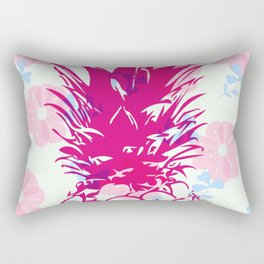 Beautiful Pineapple Flowers Pattern Rectangular Pillow
