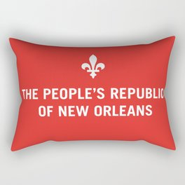 The People's Republic of New Orleans Rectangular Pillow