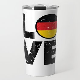 Germany Flag Shirt German Gift Idea Love Travel Mug