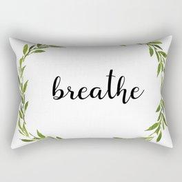Breathe, Babycakes Rectangular Pillow
