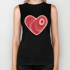 Meat Heart Biker Tank