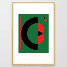 Kabul — City Series Framed Art Print