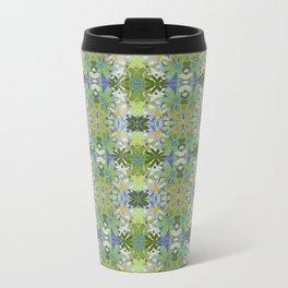 Garden Party - moss and mint Travel Mug