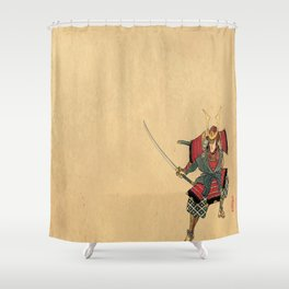 Honorable Warrior Shower Curtain