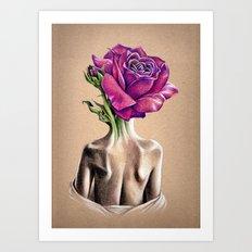 Mollie Rose Art Print