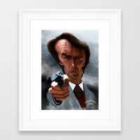 harry Framed Art Prints featuring Harry by Fran Niño