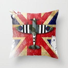 Spitfire Mk.IX Throw Pillow