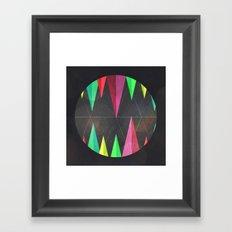 Wood Teeth Framed Art Print