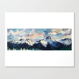 Tantalus Evenings Canvas Print