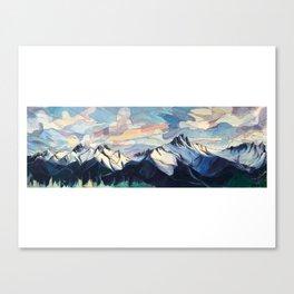 Tantalus Evenings Canvas Print