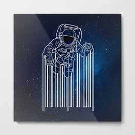 Astrocode Universe Metal Print