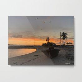 Sunrise at Fort Montague Metal Print