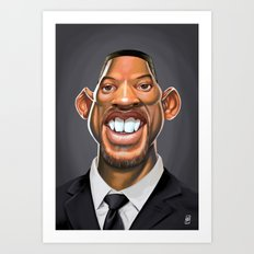Celebrity Sunday ~ Will Smith Art Print