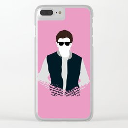Was He Slow? Clear iPhone Case