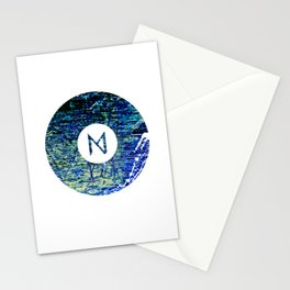 Vinyl abstract Stationery Cards