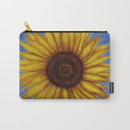 Sunflower by Lars Furtwaengler | Ink Pen | 2011 Carry-All Pouch