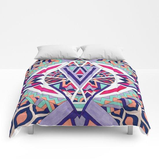 Abstract Journey II Comforters