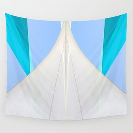 Abstract Sailcloth c2 Wall Tapestry