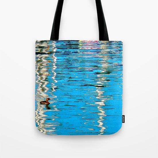 Harbor Watercolors Tote Bag