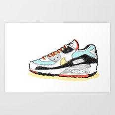 Airmax sneakers Art Print
