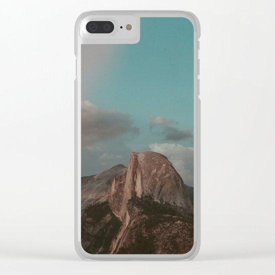 Yosemite Half Dome Clear iPhone Case
