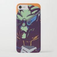 garrus iPhone & iPod Cases featuring Mass Effect - Garrus- Arch Angel by AtomicDNA