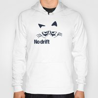 audi Hoodies featuring No drift No fun v2 HQvector by Vehicle