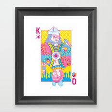 King Of Nothing, Queen Of Nowhere Framed Art Print