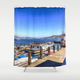 Uskudar beylerbeyi Istanbul Shower Curtain