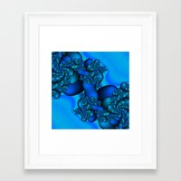 illusion Framed Art Prints featuring Illusion by Christy Leigh