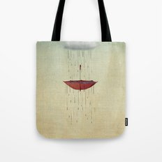 the umbrella runneth over 02 Tote Bag