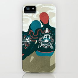 Love You / Love Me - Us and Them iPhone Case