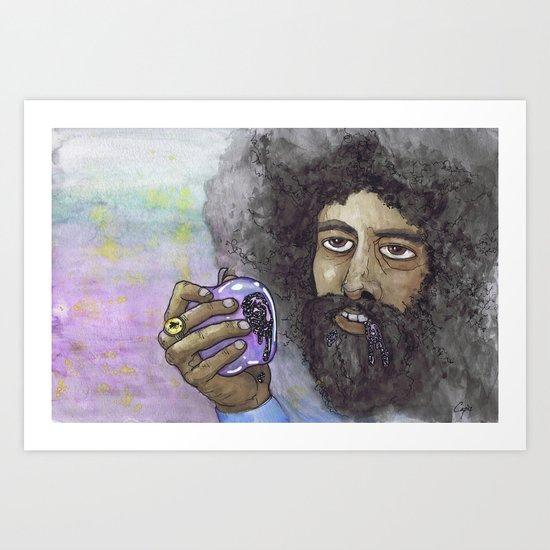 """Reggie Watts"" by Cap Blackard Art Print"